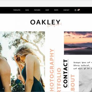Oakley Blog & Shop Theme