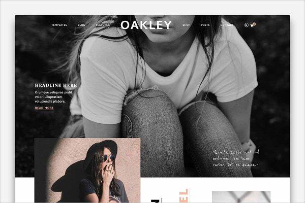 Oakley Blog & Shop Theme