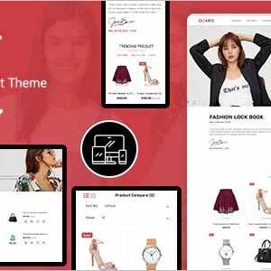 Oqaro Best Fashion Opencart Theme