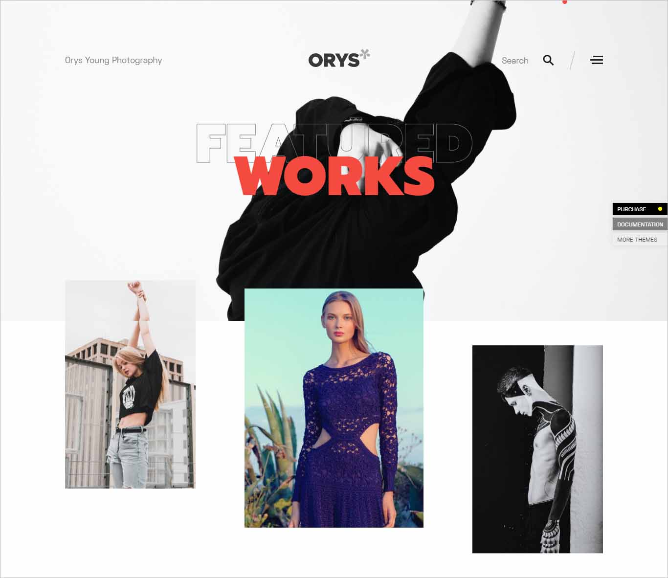 Orys Creative Photography Theme