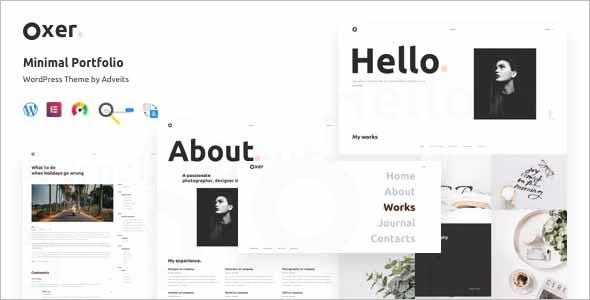 Oxer Portfolio WordPress Theme