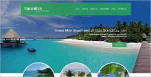 Paradise Travel Agency Joomla Theme