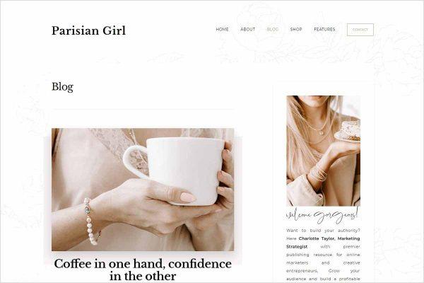 ParisianGirl Genesis Wordpress Theme