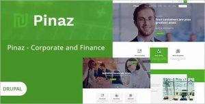 Pinaz Business Agency Drupal Theme
