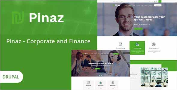 Pinaz Business Agency Drupal Theme
