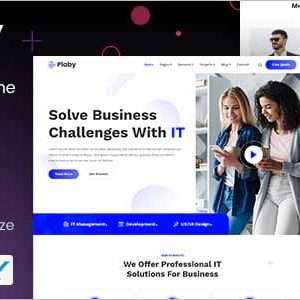Plaby IT Startup WordPress Theme
