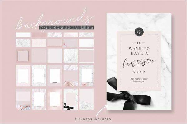 Pretty Blog Design Kit