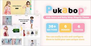 Pukabop Kids Store Shopify Theme
