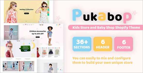 Pukabop Kids Store Shopify Theme
