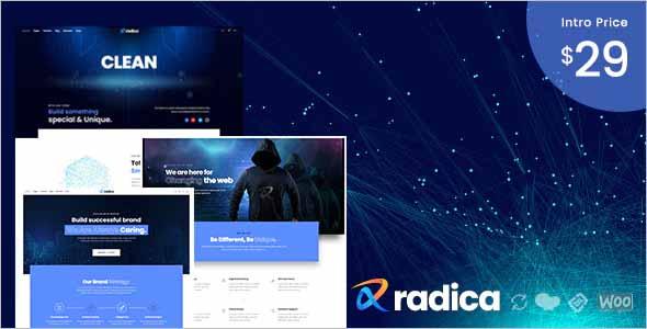 Radica MultiPurpose WordPress Theme