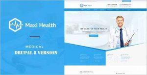 Responsive Maxi Health Drupal Theme