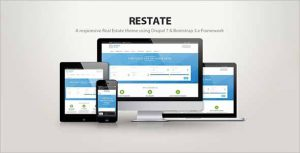 Restate Real Estate Drupal Theme