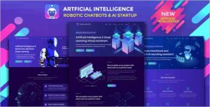 Robotizer Technology Startup Drupal Theme