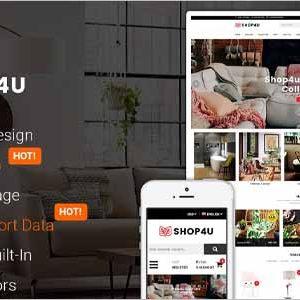 SM Shop4U Magento Theme