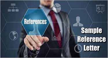 Sample Reference Letter Formats