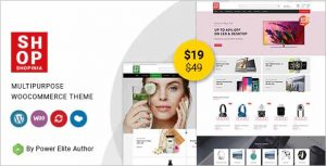 Shopinia Multipurpose WooCommerce Theme