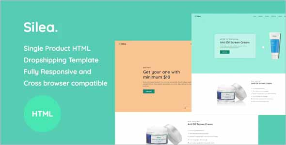 Silea Onepage Product Landing HTML Template