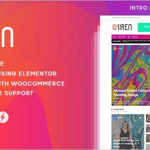 Siren News Magazine WordPress Theme