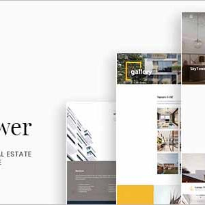 SkyTower Real Estate WordPress Theme