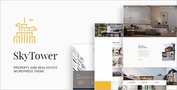 SkyTower Real Estate WordPress Theme