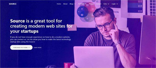 Source Universal App HTML Template