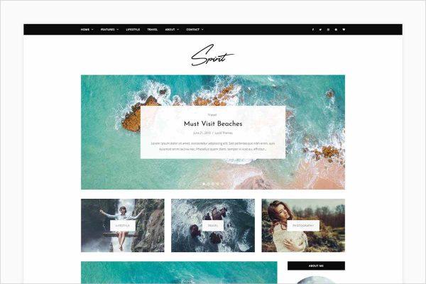 Spirit WordPress Blog Theme