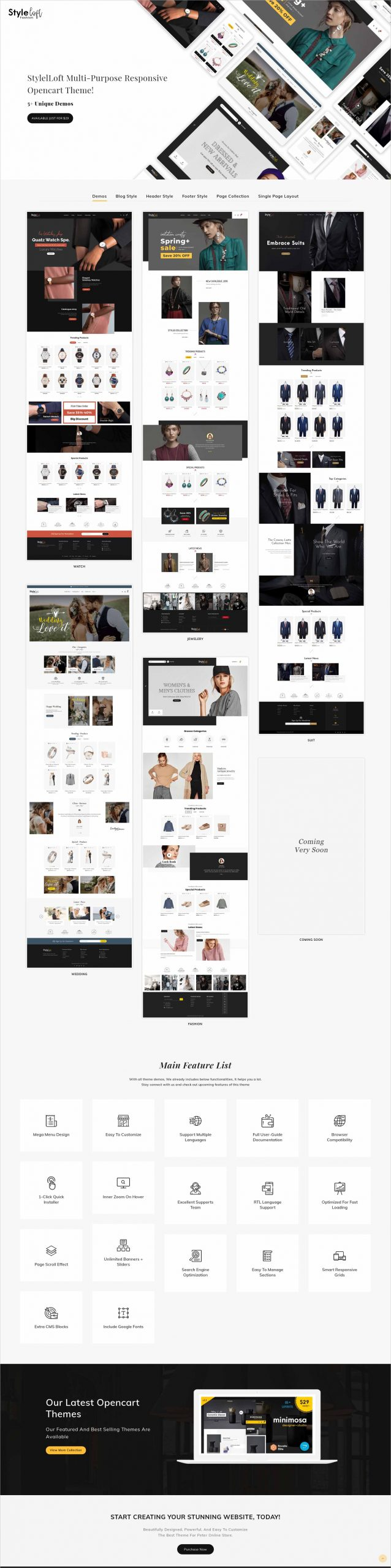 StyleLoft Opencart Multi-Purpose Responsive Theme 0