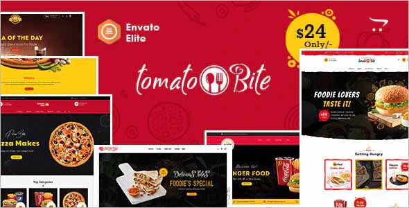 Tomato Bites Opencart Multi-Purpose Theme
