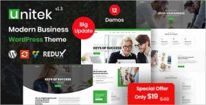 Unitek Business WordPress Theme