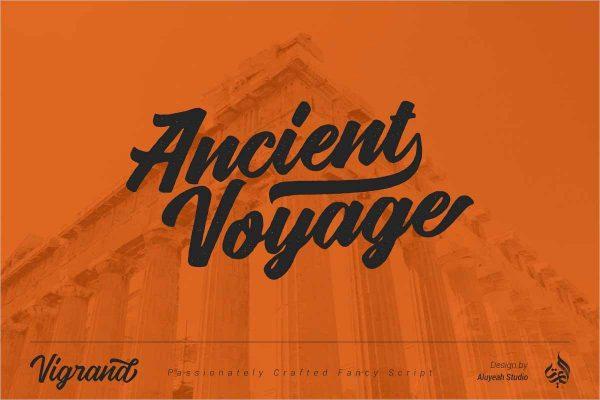 Vigrand Font - Free Download
