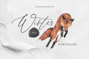 WINTER STORYTELLING Christmas set
