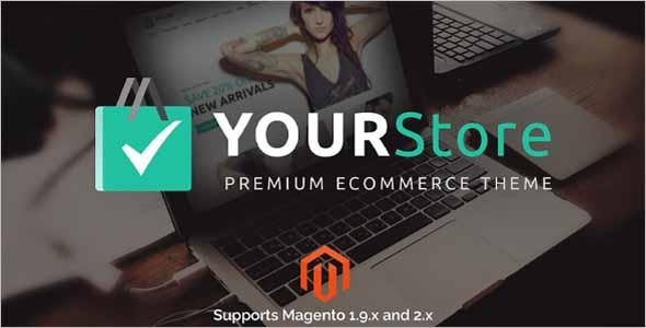 YourStore Multipurpose Magento theme