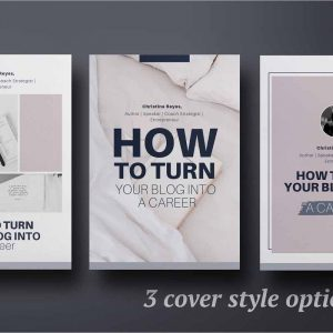 eBook creation kit InDesign template