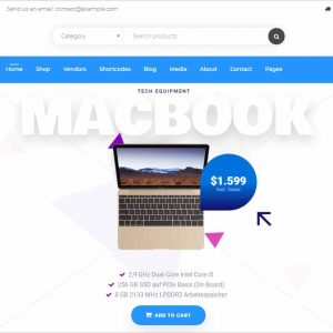 iBid Multi Vendor WooCommerce Theme