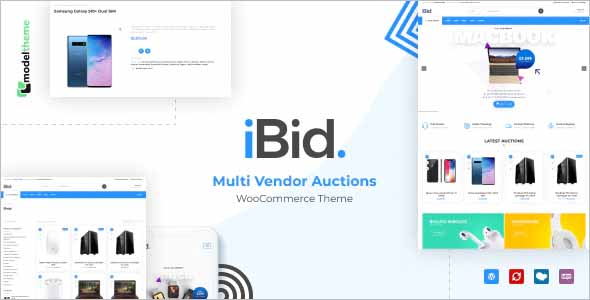 iBid Multi Vendor WooCommerce Theme