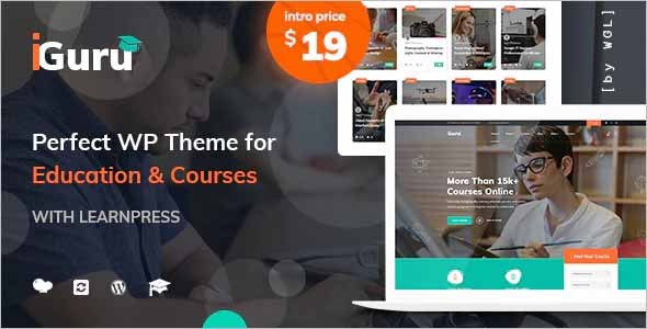 iGuru Education WordPress Theme