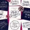 A Handlettered Christmas