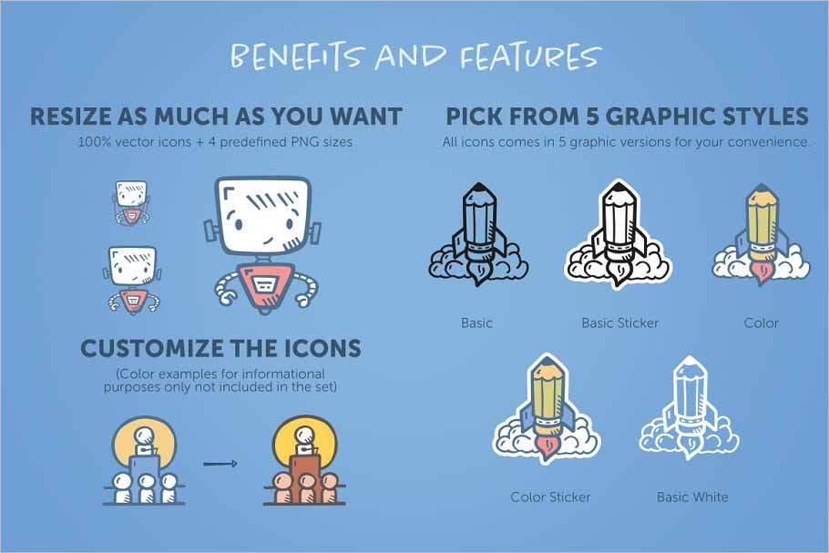 Business Icons Complete Pack