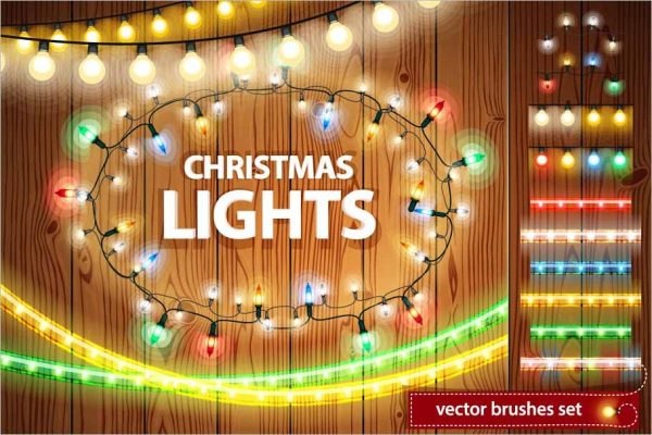 Christmas Lights Decorations Set