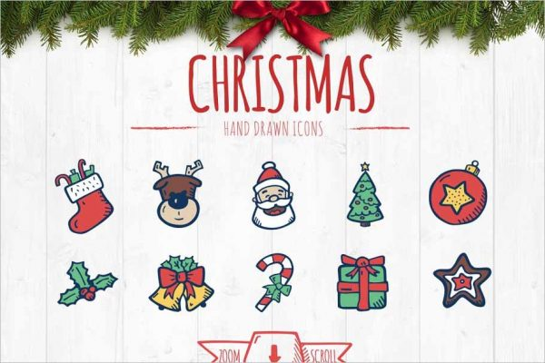 Christmas & New Year's Icons