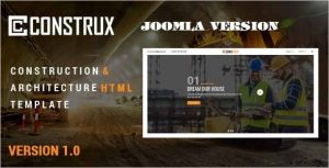 Construx Building Construction Joomla Template