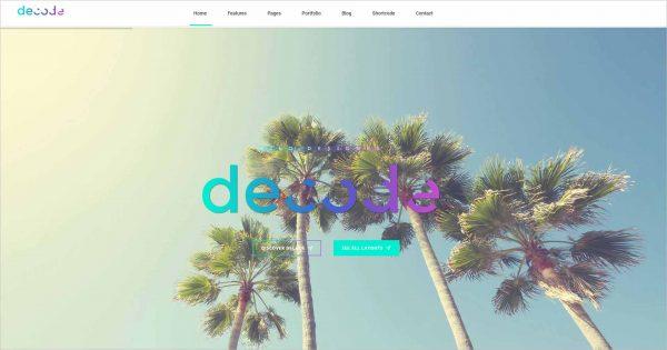 Decode Premium Business Joomla Template