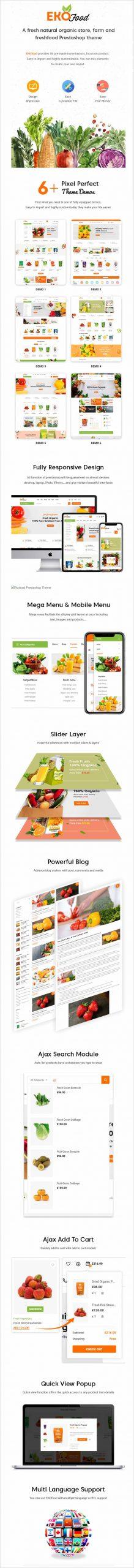 Ekofood Organic Food Store Theme