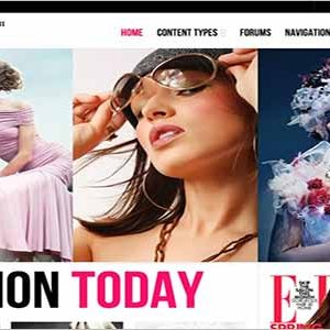 Fashion Drupal Theme TB Methys