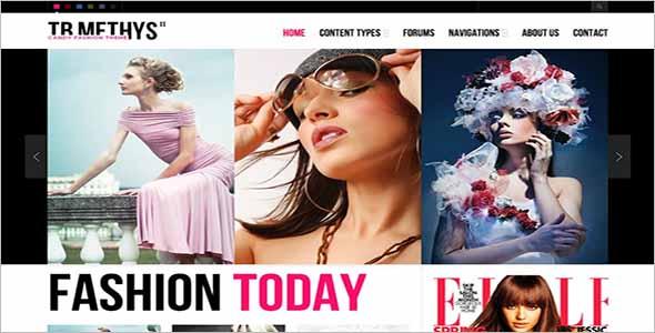 Fashion Drupal Theme TB Methys