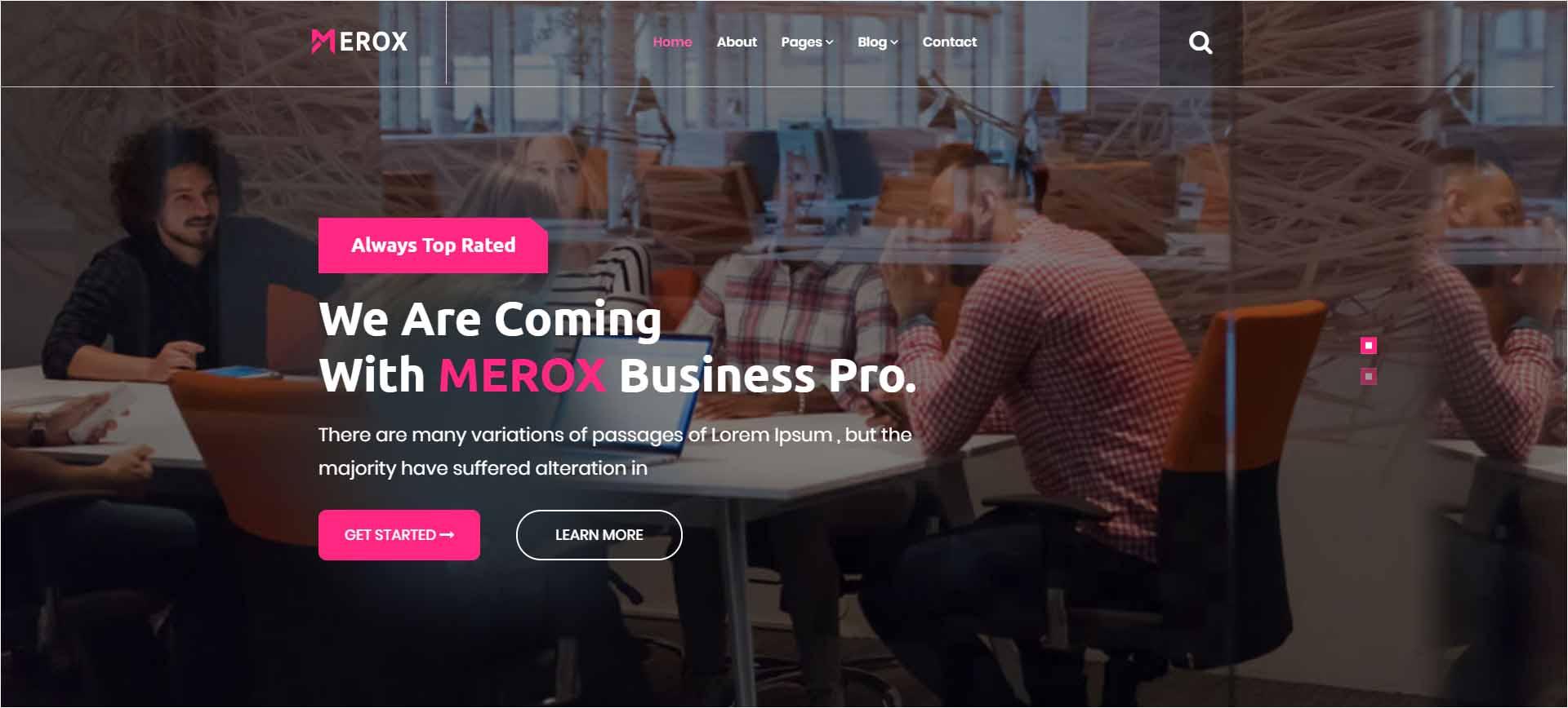 Merox Corporate HTML5 Template