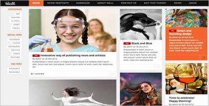 News CV Drupal Themes TB Wall