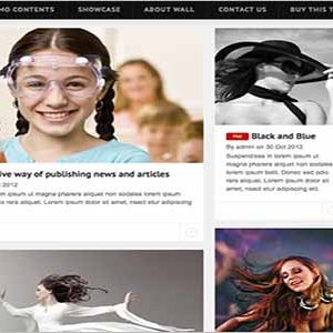 News CV Drupal Themes TB Wall