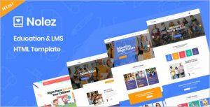 Nolez Education HTML5 Template