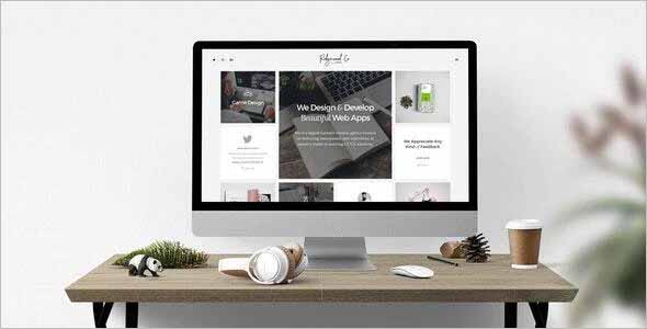 Ridgewood Clean Creative Drupal Theme